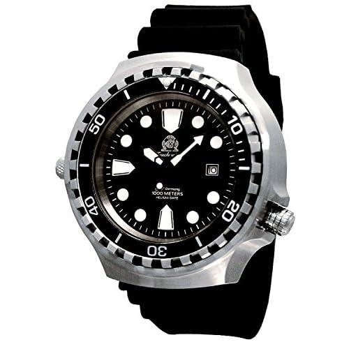 [トーチマイスター1937]Tauchmeister1937 腕時計 ドイツ製重厚 1000M耐水圧 自動巻 ダイビング T0254 [並行輸入品]