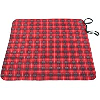 Rivers West Waterproof & Windproof Red Fleece Blanket 48 by 60 inches by Rivers West