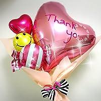 Thank youバルーンブーケ pink