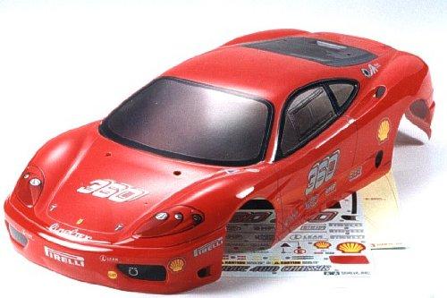 R/C SPARE PARTS SP-896 フェラーリ360モデナチャレンジ スペアボディ