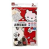 キティ 衣類圧縮袋 M・L  2枚セット (押すだけ圧縮) O-901