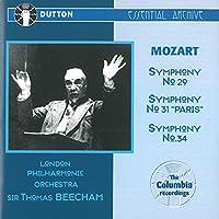 Mozart;Syms.29,31,34
