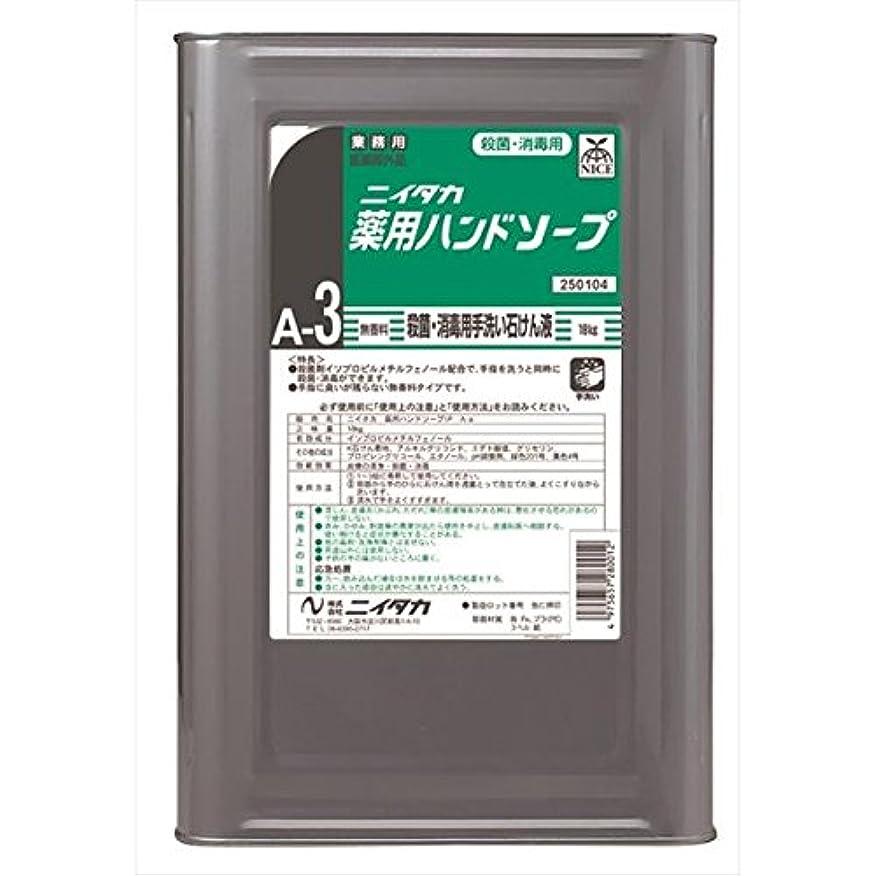 ナビゲーション摘むポジティブニイタカ:薬用ハンドソープ(A-3) 18kg 250104