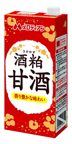 メロディアン酒粕甘酒 1000ml×6本