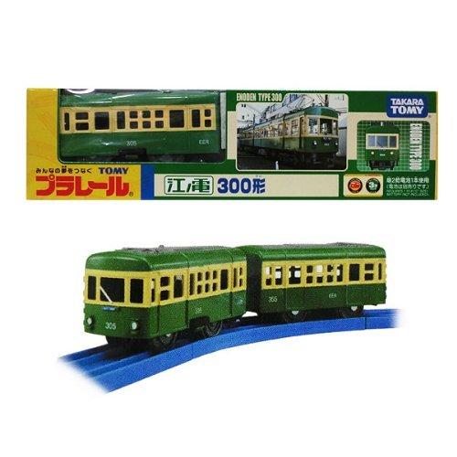 ▽ プラレール 江ノ電 300形 (江ノ島電鉄・江の電)TOMY タカラトミー(*)