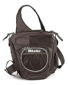 Mueller(ミューラー) スリング バッグ トレーナーズバッグ 黒 16017 ブラック 幅33.7cmx奥行10cmx高さ35cm