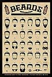 beards the art of manliness - あごひげ 男らしさのアート- ポスター