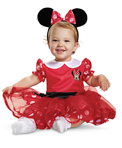 Disguise Red Minnie Mouse Infant Costume (12-18 Months) 11981W
