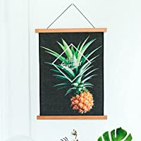 CHENGYI 北欧スタイルの緑の植物のタペストリーのベッドルームレストランファブリックの装飾ソファの背景の絵画ホームインテリア45 * 65センチメートル