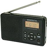 WINTECH DSP AM/FMデジタルラジオ(FMワイドバンド対応) ブラック DMR-C610K