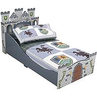 [キッドクラフト]KidKraft Toddler Knights and Shields Bedding Set 77007 [並行輸入品]