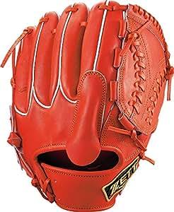 ZETT(ゼット) 硬式野球 プロステイタス グラブ (グローブ) ピッチャー用 ディープオレンジ(5800) 右投げ用 BPROG710