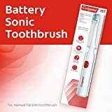 Colgate Pro Clinical 150 Electric Battery Sonic Toothbrush with Soft bristles (Packaging May Vary)
