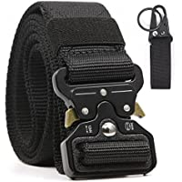 """Chessun Tactical Waist Riggers Battle Belts for Men & Women Quick Release 1000D Nylon Webbing 1.5"""" Wide Military Police Training"""