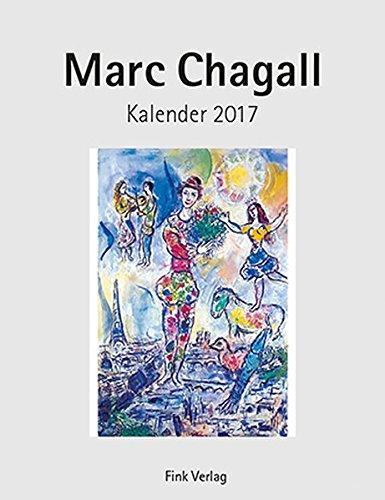 Marc Chagall 2017. Kunstkarten-Einsteckkalender
