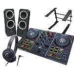 DJスタートセット Party Mix + Z200 + ATH-S100 + LPSTAND (DJコントローラー + スピーカー + ヘッドホン + PCスタンド)