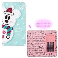 ミッキーマウス スノースノー スマートフォンケース ディズニークリスマス2016 X'mas iPhone 雪だるま 【東京ディズニーリゾート限定】