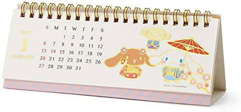 シナモロール 横長リングカレンダー 2019
