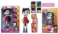 Ropeastar Boxy 女の子人形とペットの遊びセット 女の子用 シーズン1 スパンコールアクセサリーバッグ付き マルチカラー ABC