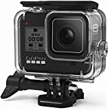 FitStill Waterproof Case for GoPro Hero 8 Black, Protective Underwater 60M Dive Housing Shell with Bracket Accessories for Go