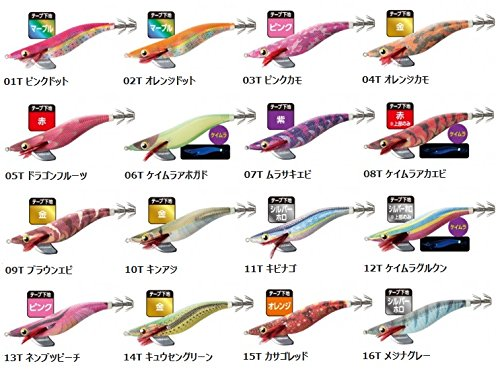 SHIMANO(シマノ) エギ セフィア クリンチ カエル跳びアッパー QE-230Q 07T ムラサキエビ -