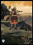 マジック:ザ・ギャザリング プレイヤーズカードスリーブ 『ストリクスヘイヴン:魔法学院』日本画ミスティカルアーカイブ 《剣を鍬に》 MTGS-156