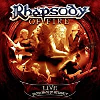 Live - From Chaos To Eternity by Rhapsody Of Fire (2013-05-07)