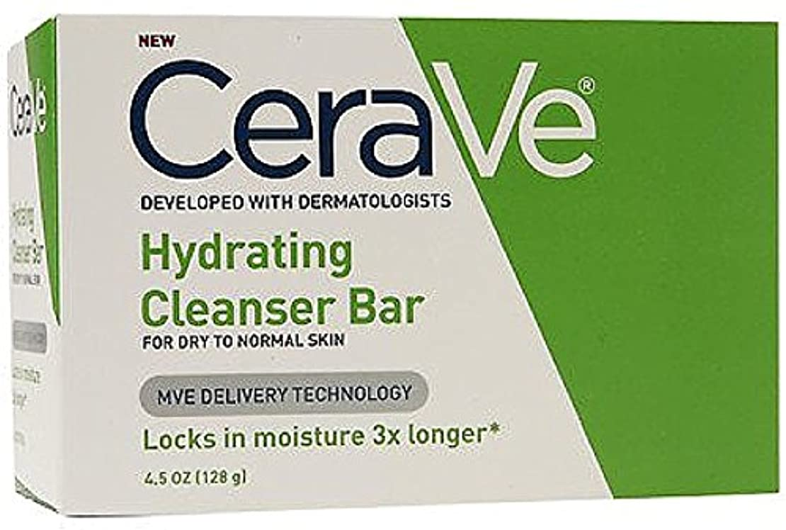 CeraVe ハイドレイティングクレンジングバー4.5オズ(10パック) 10のパック