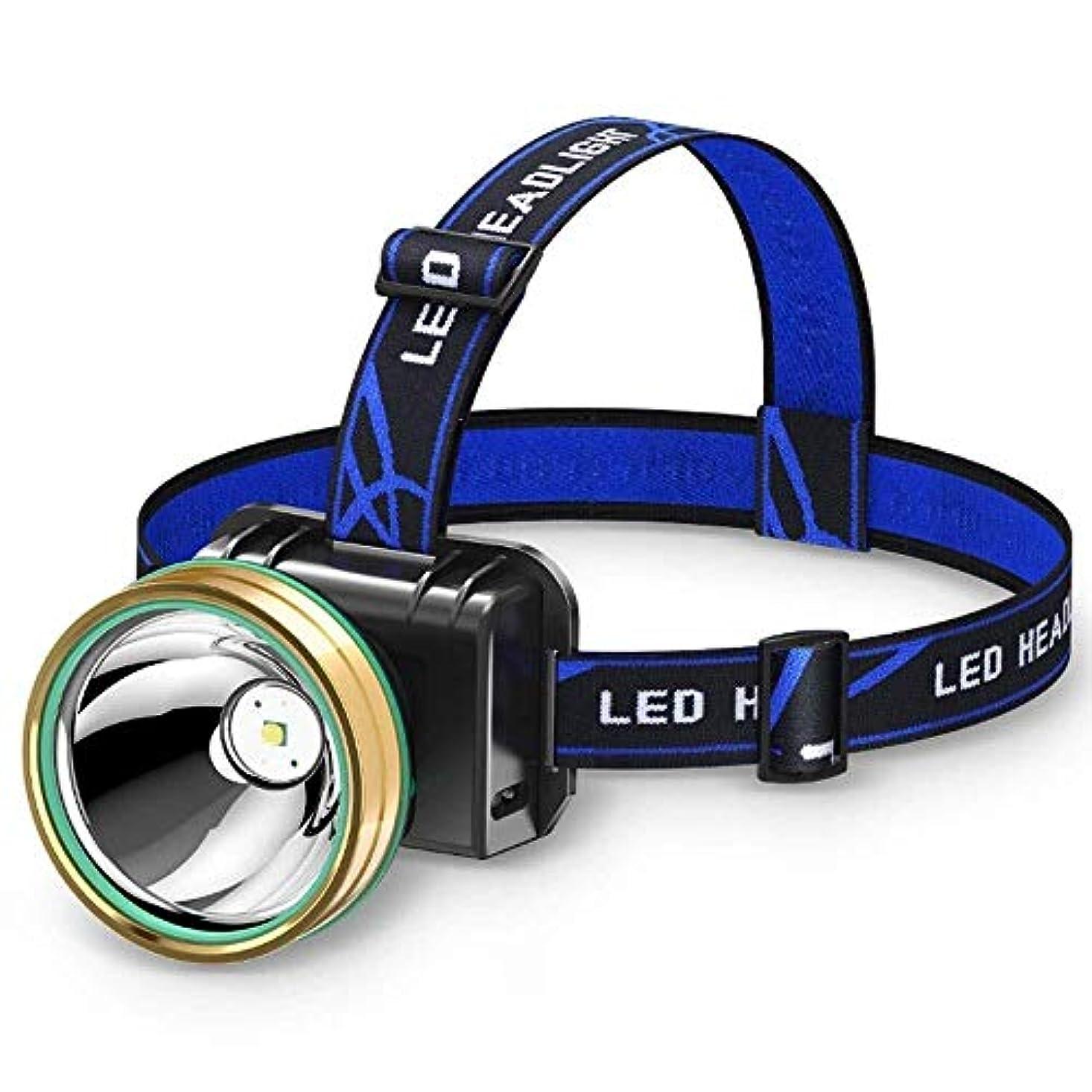 望む眉ケントヘッドランプ、LEDヘッドランプ、USB充電式、インテリジェント誘導防水ヘッドランプ、屋外のキャンプサイクリング実行釣りのための2つのモードのヘッドライトとスーパーブライト懐中電灯