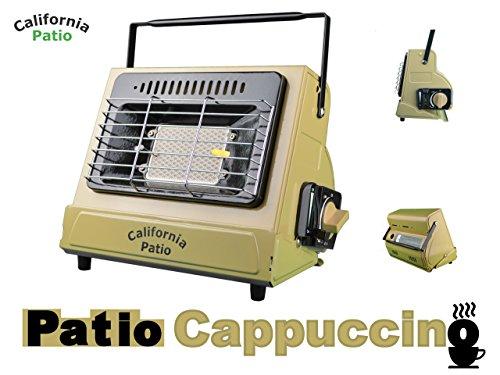California Patio (カリフォルニアパティオ) カセットガスヒーター COLOR パティオカプチーノ (低温時装置ジェネレーター搭載)(カセットガスストーブ仕様)