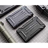 for Sony Walkman NW-A55HN A56HN A57HN A50 A55 A56 A57 Rugged Shockproof Armor Case Cover (Black)