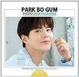 パク・ボゴム (PARK BO GUM) 2018年 (平成30年) ミニ フォト 卓上カレンダー グッズ (2018 Mini Photo Desk Calendar)