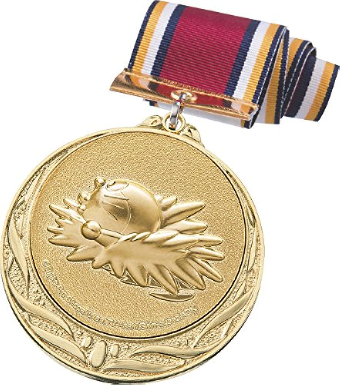 ドラえもん メダル 金 水泳 直径70mm 日本製 DRZ-2005G