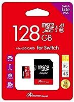 Switch/Switch Lite共用 MicroSD:アダプタ付き 128GB
