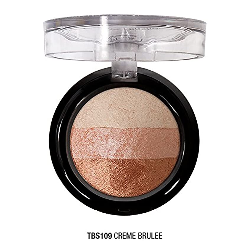 J. CAT BEAUTY Triple Crown Baked Shadow - Creme Brulee (並行輸入品)