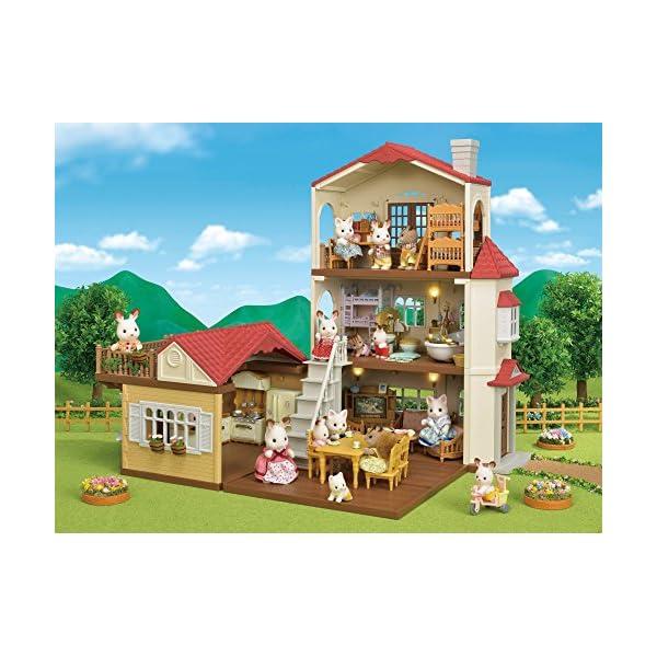 シルバニアファミリー お家 赤い屋根の大きなお...の紹介画像7