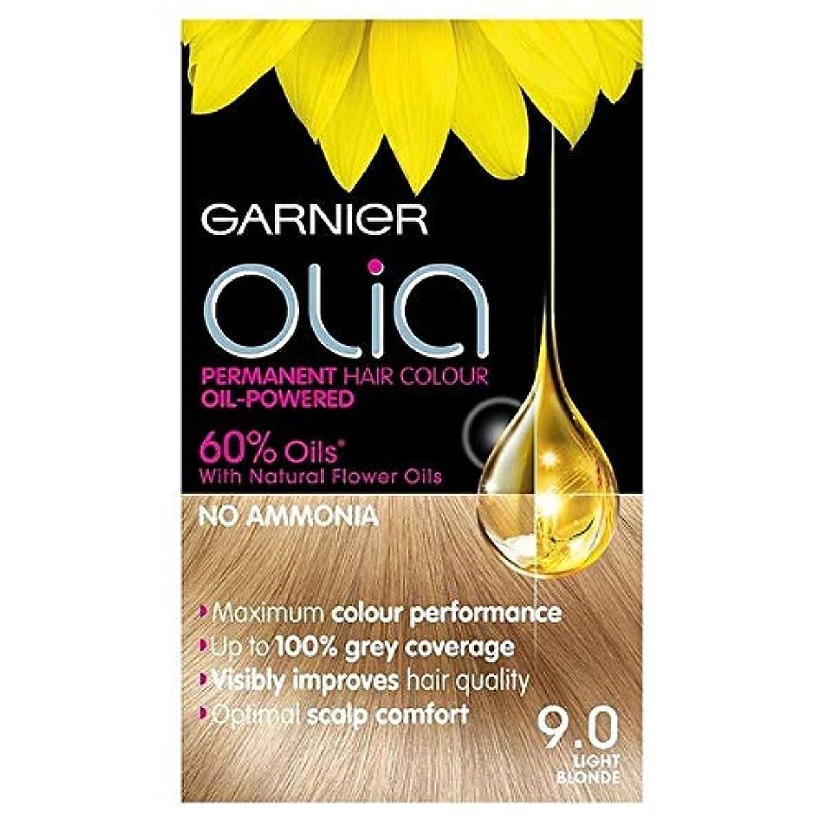 ニュース近所のテレマコス[Garnier ] 9.0光ブロンドの永久染毛剤Oliaガルニエ - Garnier Olia 9.0 Light Blonde Permanent Hair Dye [並行輸入品]
