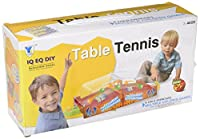 Personal Table Tennis Box Set for Kids from Little Treasures Includes 2 Play Sides with 3 Balls Each and a Shooting Zone