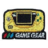 セガハードウェア 2way刺繍ワッペン<ゲームギア イエロー> 【オフィシャルライセンス商品】 グラフト ゲーミングライフ GGL029-YEL