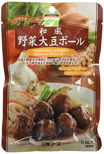 三育フーズ 和風 野菜大豆ボール 100g×5個