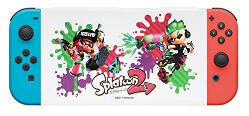Nintendo Switch専用スタンド付きカバー スプラトゥーン2ガール&ボーイ