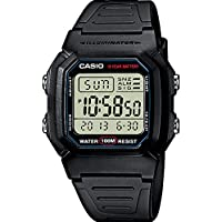 Casio W-800H-1 mens quartz watch
