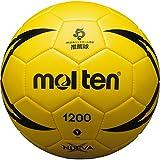 molten(モルテン) ハンドボール ヌエバX1200 1号 教材用 屋内専用 黄 H1X1200-Y