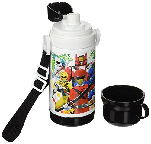 小森樹脂 水筒 動物戦隊 ジュウオウジャー コップ付き直飲みステンレスボトル 500ml 372862