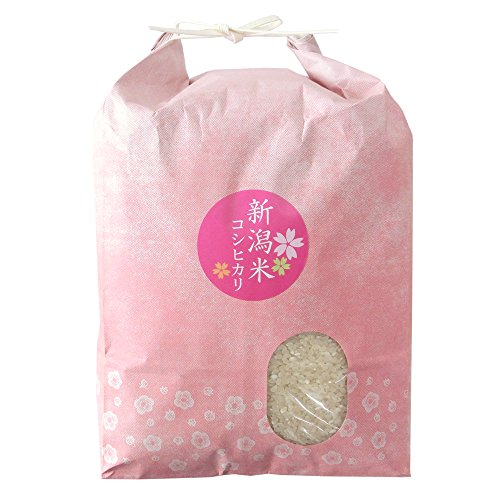 [お歳暮]売れ筋人気ランキングで上常に上位の「お米ギフト」 [新米・29年産]無洗米 新潟米コシヒカリ 5kg 縁起の良い梅模様の袋