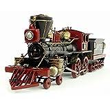 蒸気機関車 USA Zeus train ブリキ製 鉄道模型 オールド ビンテージ (全て手作り)