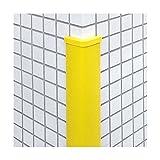 信栄物産 コーナーガード(キャップ付) 65×65×13 レモンイエロー(裏板樹脂) #CHS-LY10