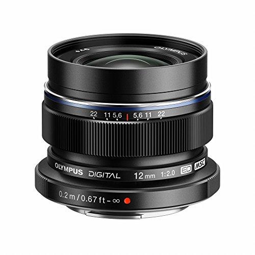 OLYMPUS 単焦点レンズ M.ZUIKO DIGITAL ED 12mm F2.0 ブラック ED 12mm F2.0 BLK