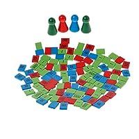 yuuups モンテッソーリ 木製スタンプ ゲーム 数学玩具 子供 早期教育玩具 建設エンジニアリング 男の子 女の子 3歳 4歳 5歳以上 クリエイティブな楽しいキット 子供への最高のギフト