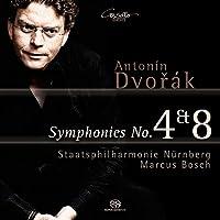 Dvorak: Symphonies Nos. 4 & 8 by Staatsphilharmonie N眉rnberg